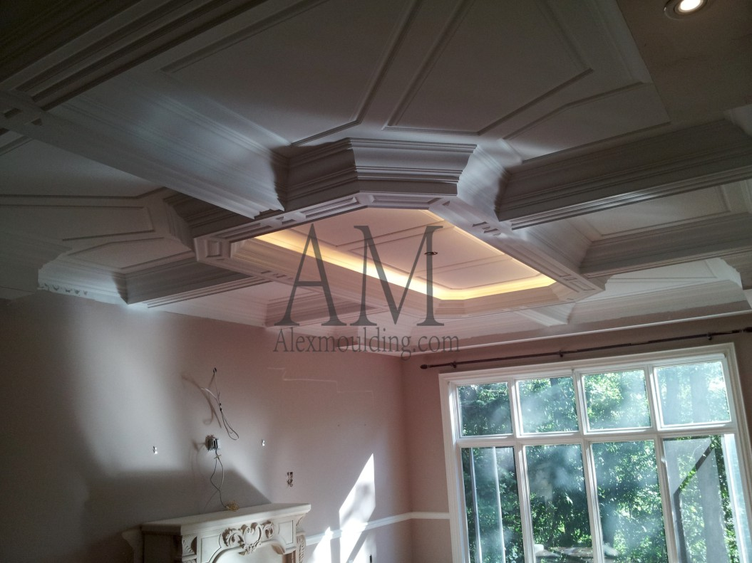 round coffered ceiling