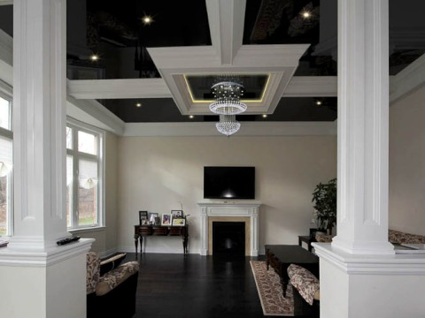 waffle coffered ceilings