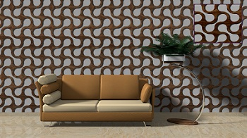 Decorative 3D wall panels