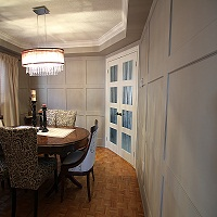 Picture of wainscot Wall paneling
