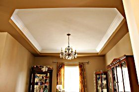 vaulted ceiling moulding