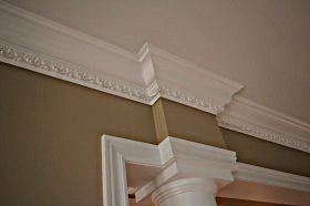 Crown mouldings millwork