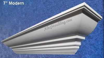 7 Modern  crown moulding Profile