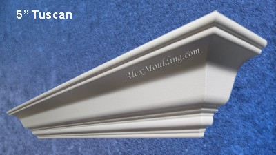 5 inch Smooth Cornice moulding
