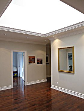 vaulted ceiling crown moulding Toronto