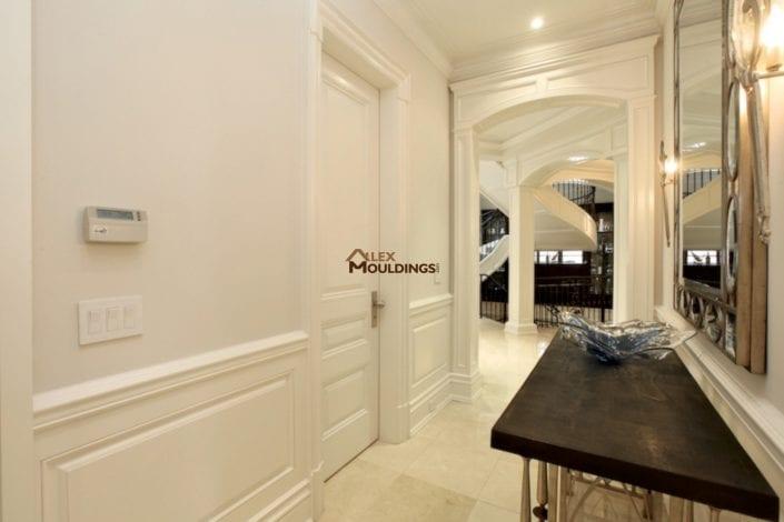 custom hallway door opening