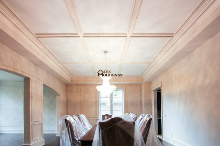 ceiling trim idea