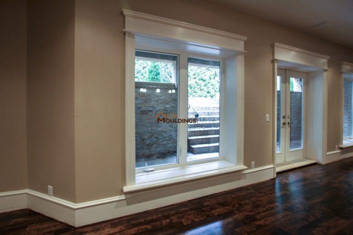 window casings and header