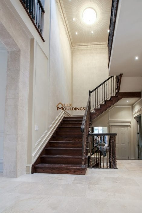 baseboards and crown