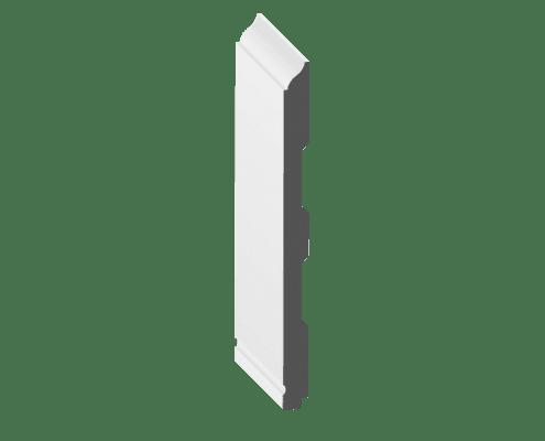 """8"""" Wall Batten Baseboard: 8 1/4"""" x 5/8"""" x 16'"""