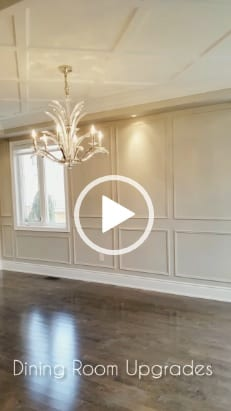 Ceiling Design with Crown Mouldings