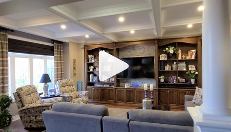A cozy family room